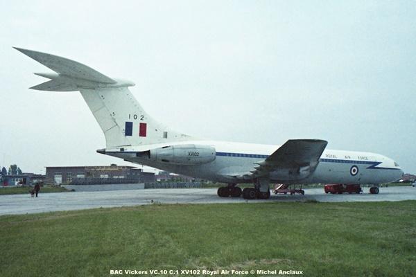 img029 BAC Vickers VC.10 C.1 XV102 Royal Air Force © Michel Anciaux