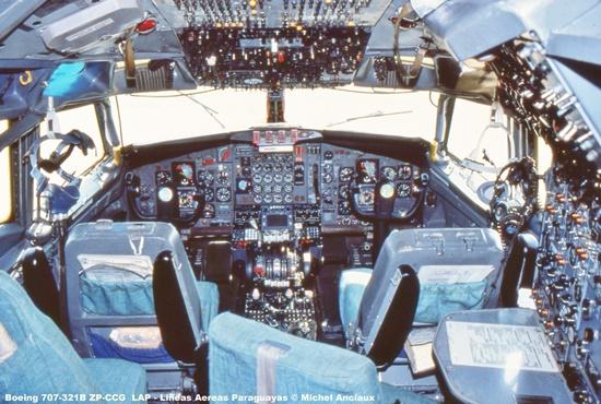 img1330 Boeing 707-321B ZP-CCG LAP - Lineas Aereas Paraguayas © Michel Anciaux