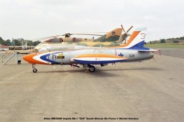 img1720 Atlas MB326M Impala Mk I ''524'' South African Air Force