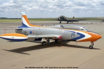 img1758 Atlas MB326M Impala Mk I ''524'' South African Air Force ''524''