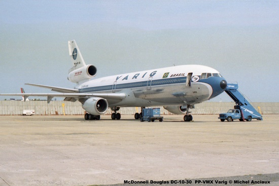 img581 McDonnell Douglas DC-10-30 PP-VMX Varig © Michel Anciaux
