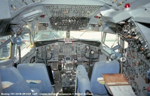 img753 Boeing 707-321B ZP-CCF LAP - Lineas Aereas Paraguayas © Michel Anciaux