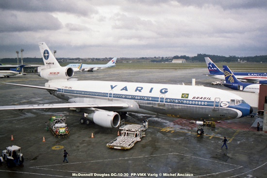 img758 McDonnell Douglas DC-10-30 PP-VMX Varig © Michel Anciaux