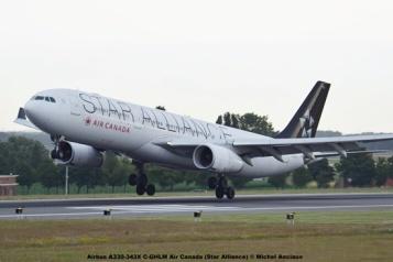 DSC_0012 Airbus A330-343X C-GHLM Air Canada (Star Alliance) © Michel Anciaux