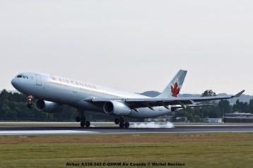DSC_0035 Airbus A330-343 C-GHKW Air Canada © Michel Anciaux
