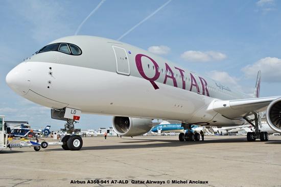 DSC_0088 Airbus A350-941 A7-ALD Qatar Airways © Michel Anciaux