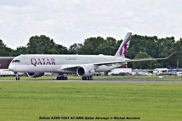 DSC_0137 Airbus A350-1041 A7-ANH Qatar Airways © Michel Anciaux