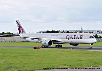 DSC_0149 Airbus A350-1041 A7-ANH Qatar Airways © Michel Anciaux