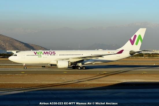 DSC_0238 Airbus A330-223 EC-MTT Wamos Air © Michel Anciaux