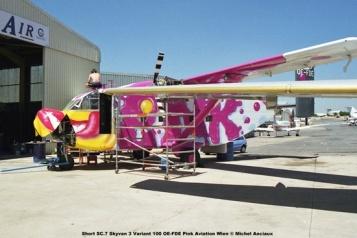 img1013 Short SC.7 Skyvan 3 Variant 100 OE-FDE Pink Aviation Wien © Michel Anciaux