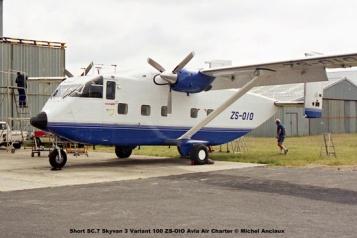 img1017 Short SC.7 Skyvan 3 Variant 100 ZS-OIO Avia Air Charter © Michel Anciaux
