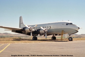 img1018 Douglas DC-6A (C-118A) V5-NCC Namibia Commercial Aviation © Michel Anciaux