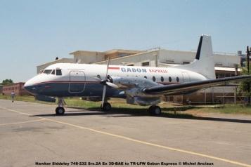 img1056 Hawker Siddeley 748-232 Srs.2A Ex 3D-BAE to TR-LFW Gabon Express © Michel Anciaux
