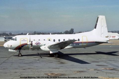 img1060 Hawker Siddeley 748-378 Sr2B ZS-NNW Executive Aerospace Ltd © Michel Anciaux