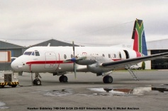 img1063 Hawker Siddeley 748-344 Sr2A ZS-XGY Internsive Air Pty © Michel Anciaux