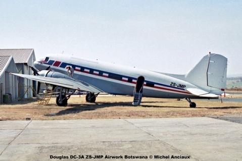 img1069 Douglas DC-3A ZS-JMP Airwork Botswana © Michel Anciaux