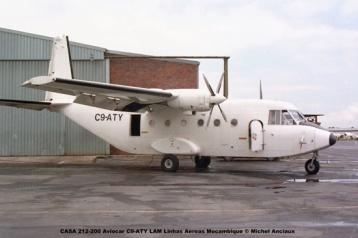 img1074 CASA 212-200 Aviocar C9-ATY LAM Linhas Aereas Mocambique © Michel Anciaux