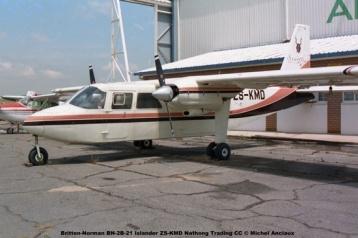 img1091 Britten-Norman BN-2B-21 Islander ZS-KMD Nathong Trading CC © Michel Anciaux
