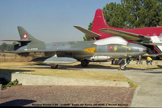img1096 Hawker Hunter F.58 ''J-4059'' Swiss Air Force (3D-HUN) © Michel Anciaux