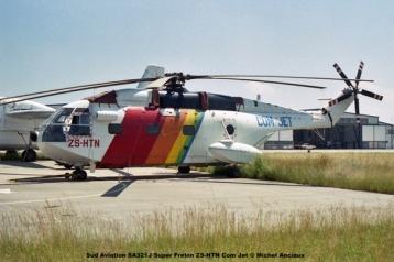 img1128 Sud Aviation SA321J Super Frelon ZS-HTN Com Jet © Michel Anciaux