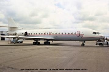 img1129 Sud Aviation SE-210 Caravelle 11R 3D-CNA Gabon Express © Michel Anciaux