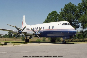 img1223 Vickers 806 Viscount G-APEY Interflight © Michel Anciaux