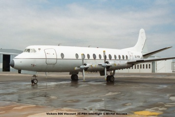 img1229 Vickers 806 Viscount 3C-PBH Interflight © Michel Anciaux