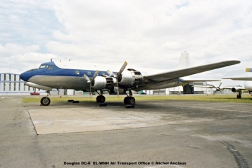 img1237 Douglas DC-6 EL-WNH Air Transport Office © Michel Anciaux