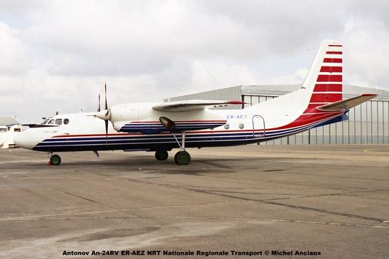 img1251 Antonov An-24RV ER-AEZ NRT Nationale Regionale Transport © Michel Anciaux