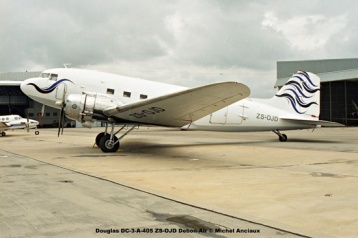img1253 Douglas DC-3-A-405 ZS-OJD Debon-Air © Michel Anciaux