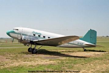 img1254 Douglas DC-3-A-405 ZS-OJD Debon-Air © Michel Anciaux
