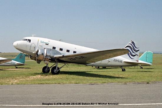 img1261 Douglas C-47B-25-DK ZS-OJE Debon-Air © Michel Anciaux