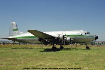 img1340 Douglas C-54D-15-DC EL-AWX Interocean Airways © Michel Anciaux