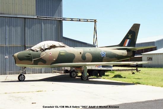 img1354 Canadair CL-13B Mk.6 Sabre ''383'' SAAF © Michel Anciaux