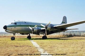 img1412 Douglas C-54D-15-DC EL-AWX Interocean Airways © Michel Anciaux