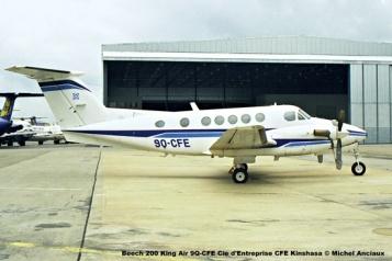 img1694 Beech 200 King Air 9Q-CFE Cie d'Entreprise CFE Kinshasa © Michel Anciaux