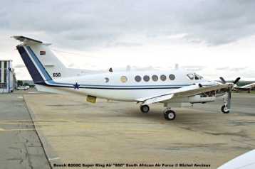 img1695 Beech B200C Super King Air ''650'' South African Air Force © Michel Anciaux