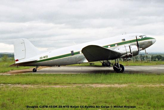 img1733 Douglas C-47B-10-DK ZS-NTD Keljet CC-Eyethu Air Cargo © Michel Anciaux