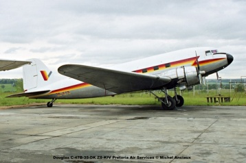 img1735 Douglas C-47B-35-DK ZS-KIV Pretoria Air Services © Michel Anciaux
