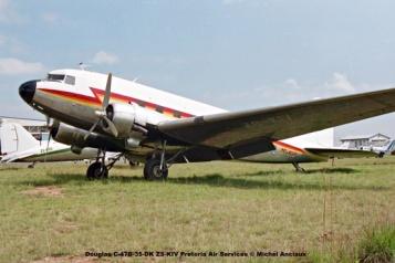 img1736 Douglas C-47B-35-DK ZS-KIV Pretoria Air Services © Michel Anciaux