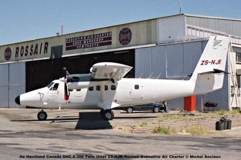 img1943 De Havilland Canada DHC-6-300 Twin Otter ZS-NJK Rossair Executive Air Charter © Michel Anciaux
