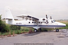img1945 De Havilland Canada DHC-6-300 Twin Otter A2-OTA Moremi Air © Michel Anciaux