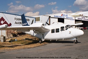 img1948 Piaggio P-166S Albatross ZS-NJY Beachyhead Family Trust © Michel Anciaux