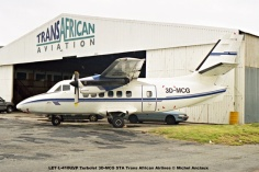 img1975 LET L-410UVP Turbolet 3D-MCG STA Trans African Airlines © Michel Anciaux