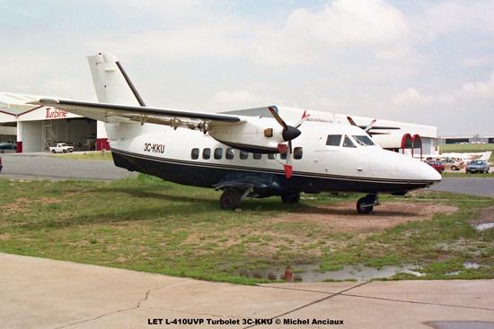 img1982 LET L-410UVP Turbolet 3C-KKU © Michel Anciaux