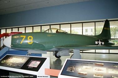img365 Lockheed XP-80 Shooting Star ''44-83020'' USAF © Michel Anciaux