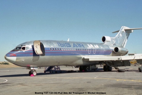 img993 Boeing 727-123 D2-FLZ Ibis Air Transport © Michel Anciaux
