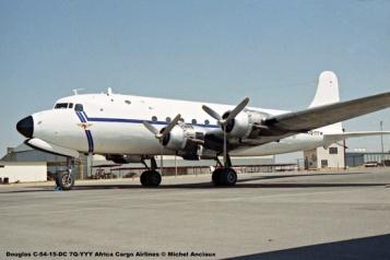 img996 Douglas C-54-15-DC 7Q-YYY Africa Cargo Airlines © Michel Anciaux