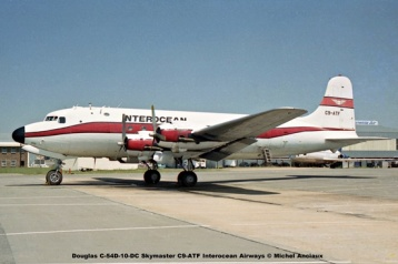 img997 Douglas C-54D-10-DC Skymaster C9-ATF Interocean Airways © Michel Anciaux