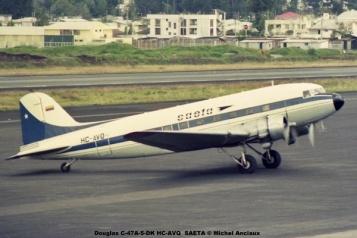 img628 Douglas C-47A-5-DK HC-AVQ SAETA © Michel Anciaux